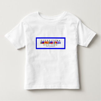 Georgetown SC Signal Flag Toddler Tee
