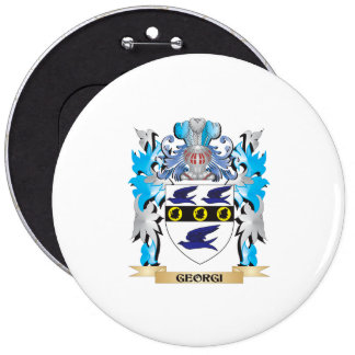 Georgi Coat of Arms - Family Crest Buttons