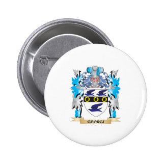 Georgi Coat of Arms - Family Crest Pinback Button