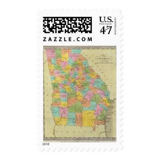 Georgia 10 postage