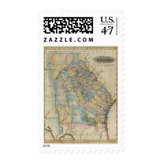 Georgia 11 postage stamp