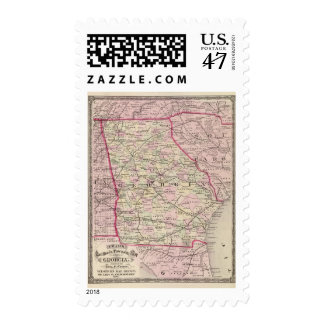 Georgia 12 postage