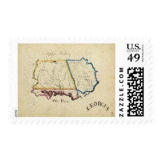 Georgia 13 postage