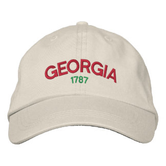 Georgia 1787 Embroidered Hat