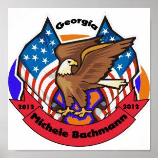 Georgia 2012 para Micaela Bachmann Poster
