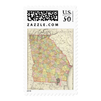 Georgia 2 postage
