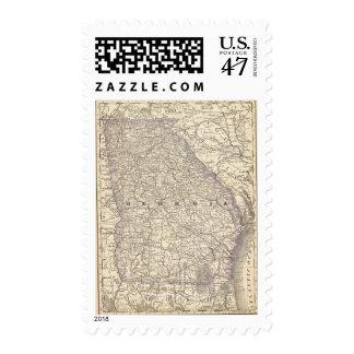Georgia 2 postage stamp