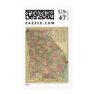 Georgia 3 postage stamp
