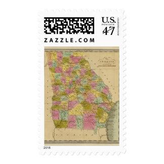 Georgia 4 postage stamp