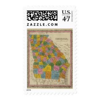 Georgia 4 stamp