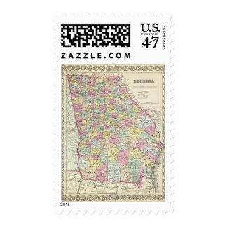 Georgia 5 postage stamp