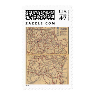 Georgia 8 postage