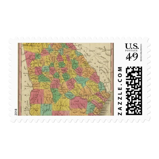 Georgia 9 postage