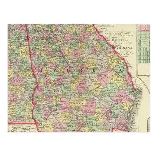 Georgia Alabama Tarjetas Postales