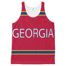 Georgia All-Over Printed Unisex Tank