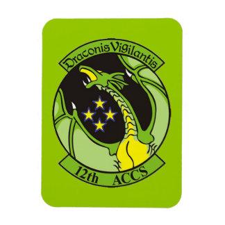 Georgia ANG 12th Airborne ACCS Rectangular Photo Magnet