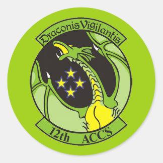 Georgia ANG 12th Airborne ACCS Sticker