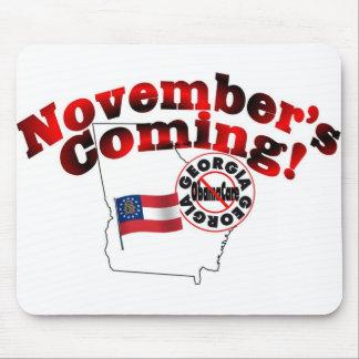 Georgia Anti ObamaCare – November's Coming! Mouse Pad
