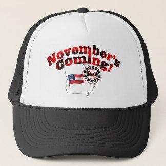 Georgia Anti ObamaCare – November's Coming! Trucker Hat