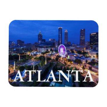 Christmas Themed Georgia, Atlanta, Centennial Olympic Park Magnet
