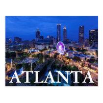 Georgia, Atlanta, Centennial Olympic Park Postcard