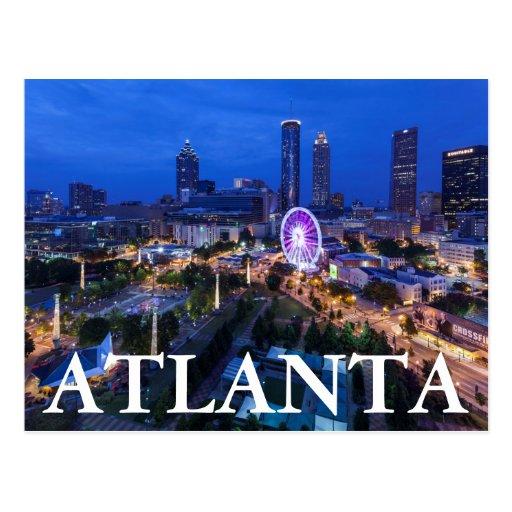 Bellwether Landscape Architects In Atlanta Ga: Georgia, Atlanta, Centennial Olympic Park Postcard