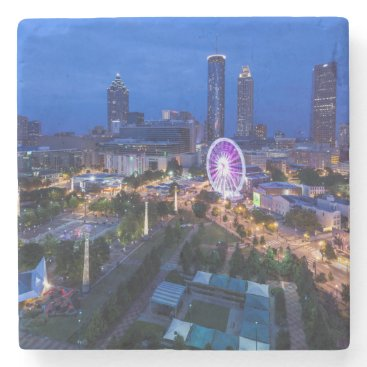 Christmas Themed Georgia, Atlanta, Centennial Olympic Park Stone Coaster