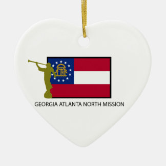 GEORGIA ATLANTA NORTH MISSION LDS CTR CERAMIC ORNAMENT