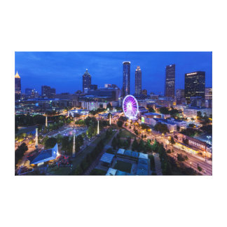 Georgia, Atlanta, parque olímpico centenario Impresión En Lienzo