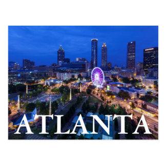 Georgia, Atlanta, parque olímpico centenario Tarjeta Postal