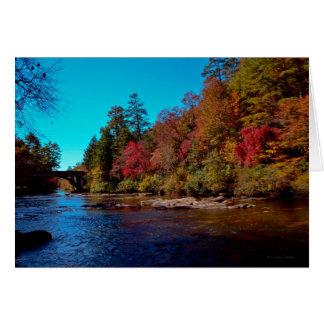 Georgia Autumn Card