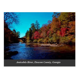 Georgia Autumn Postcard