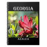 Georgia Azalea Note Book