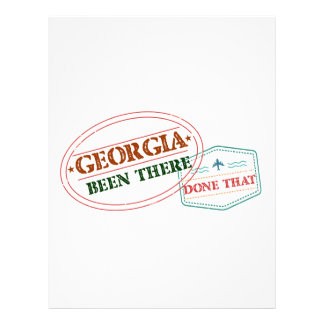 Georgia Been There Done That Letterhead