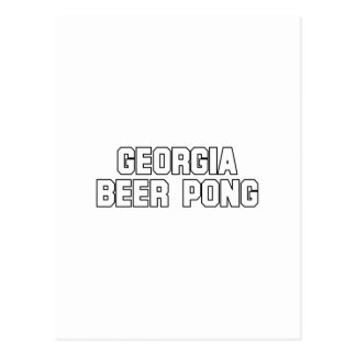 Georgia Beer Pong Postcards