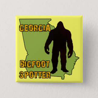 Georgia Bigfoot Spotter Pinback Button