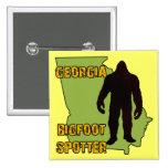 Georgia Bigfoot Spotter Pinback Buttons