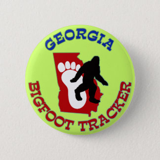 Georgia Bigfoot Tracker Pinback Button