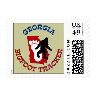 Georgia Bigfoot Tracker Stamps