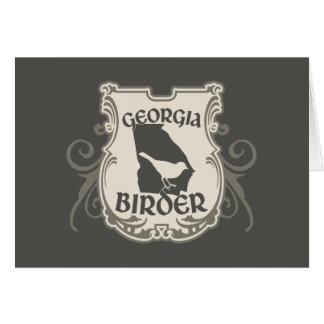Georgia Birder Card