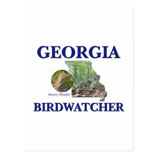 Georgia Birdwatcher Postcard
