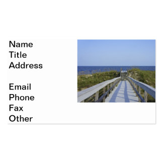 Georgia Boardwalk Double-Sided Standard Business Cards (Pack Of 100)
