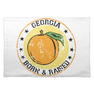Georgia born and raised with Peach Placemats