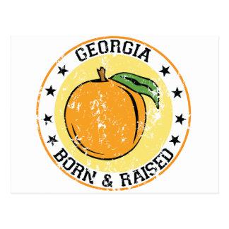 Georgia born and raised with Peach Postcard