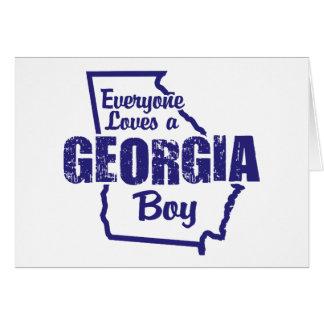 Georgia Boy Card