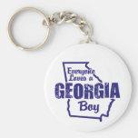 Georgia Boy Key Chain