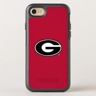 91f73651c3 Georgia Bulldogs Logo OtterBox Symmetry iPhone 8/7 Case
