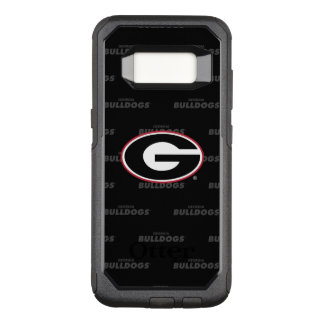 Georgia Bulldogs Logo | Watermark Pattern OtterBox Commuter Samsung Galaxy S8 Case