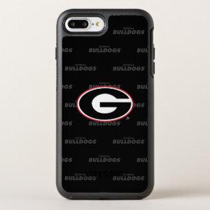 b4de52292d Georgia Bulldogs Logo | Watermark Pattern OtterBox Symmetry iPhone 8 Plus/7  Plus Case