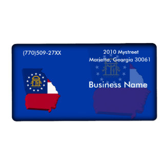 Georgia Business Label
